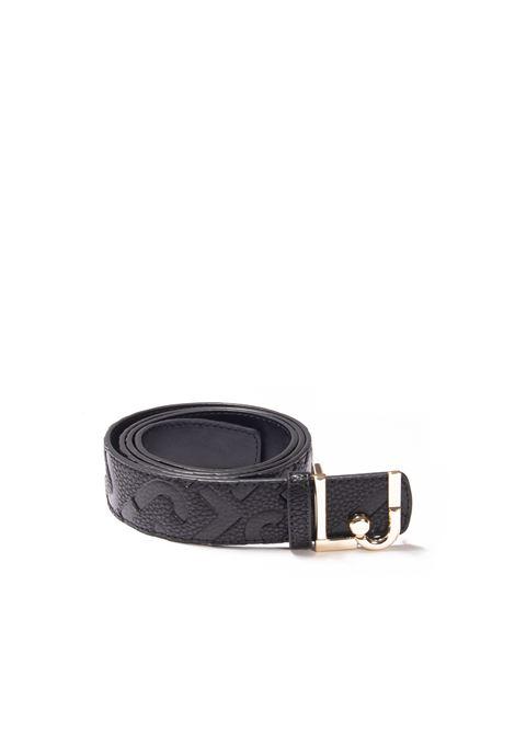 Cintura logo nero LIU JO | Cinture | AF1223E0538PELLE-22222