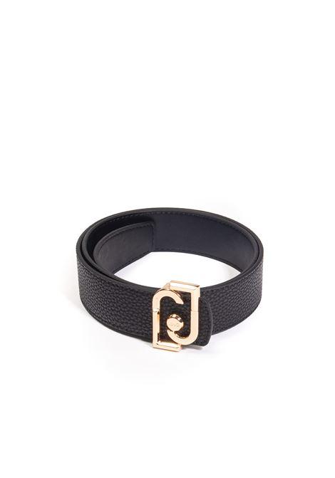 Cintura ecs nero LIU JO | Cinture | NF1246E0086PELLE-22222
