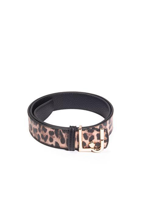 Cintura reversibile logo LIU JO | Cinture | NF1249E0053PELLE-V9414