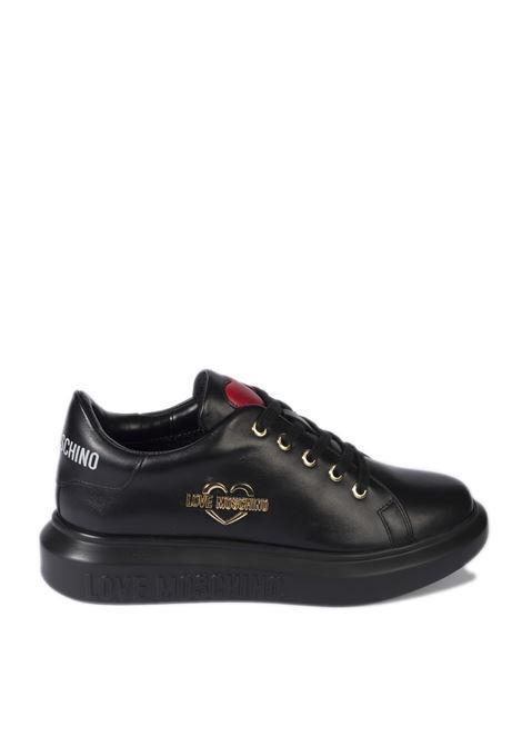 Sneaker love nero LOVE MOSCHINO | Sneakers | 15204VIT-000