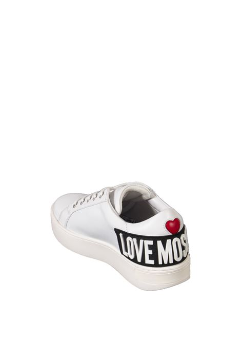 Sneaker logo bianco LOVE MOSCHINO | Sneakers | 15573VIT-100