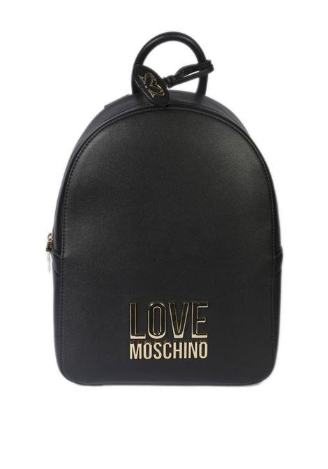 Zaino bonded nero LOVE MOSCHINO | Zaini | 4109BONDED-000A