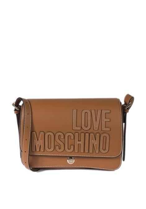 Tracolla m 3d cuoio LOVE MOSCHINO   Borse a spalla   4175PU-200