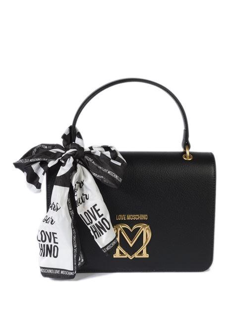 Borsa mini foulard nero LOVE MOSCHINO | Borse mini | 4209PU-000