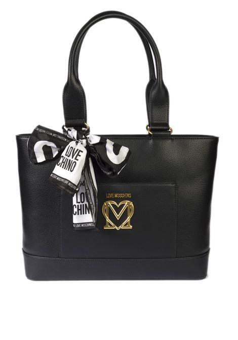 Shopping foulard nero LOVE MOSCHINO | Borse a spalla | 4210PU-000