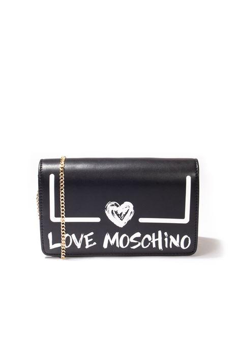 Pochette paint nero LOVE MOSCHINO | Borse mini | 4289PU-00A