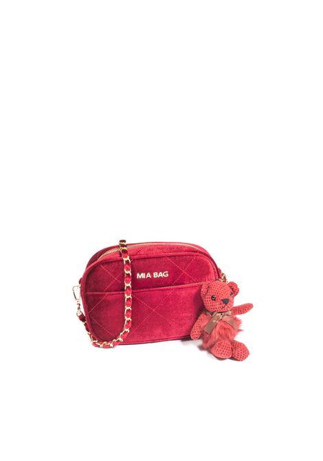 Tracolla s velvet bordeaux MIA BAG | Borse mini | 21301VELVET-BORDEAUX