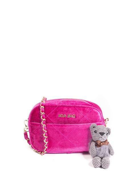 Tracolla s velvet fuxia MIA BAG | Borse mini | 21301VELVET-FUXIA