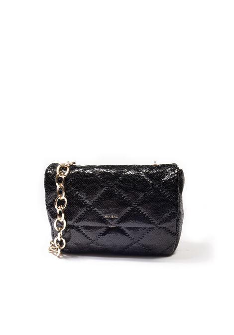 Tracolla chain nero MIA BAG | Borse a spalla | 21307PYTHON-NERO