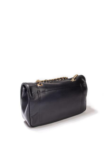 Tracolla plain nero MIA BAG | Borse a spalla | 21328PELLE-NERO