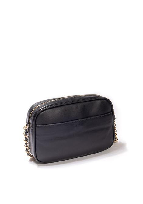 Tracolla s plain nero MIA BAG | Borse mini | 21329PELLE-NERO