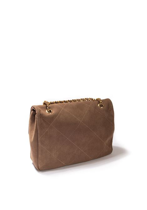 Tracolla suede taupe MIA BAG | Borse a spalla | 21340SUEDE-TAUPE