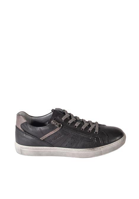 Sneaker osaka zip nero NERO GIARDINI | Sneakers | 102180OSAKA-100