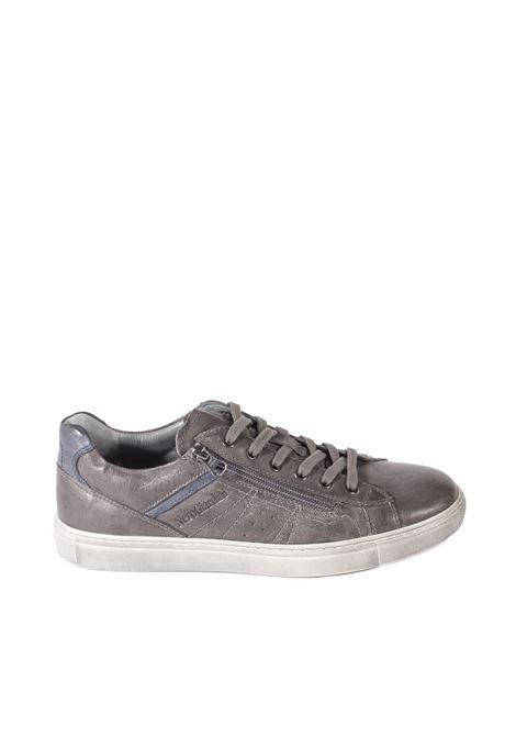 Sneaker osaka zip grigio NERO GIARDINI | Sneakers | 102180OSAKA-109