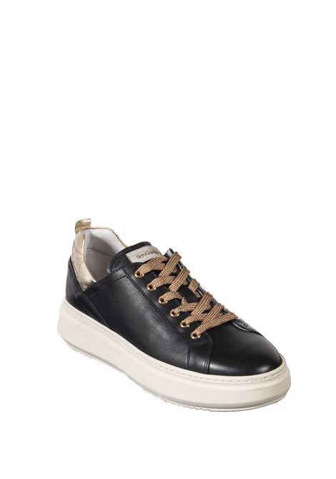 Sneaker metal nero NERO GIARDINI | Sneakers | 117050GUANTO-100
