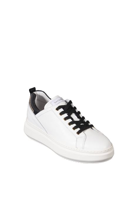 Sneaker metal bianco NERO GIARDINI | Sneakers | 117050VELVET-707