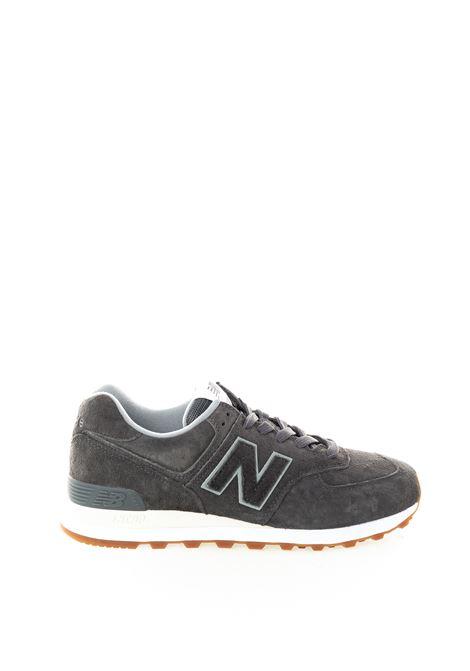 Sneaker 574 pigskin grigio NEW BALANCE | Sneakers | 574UEPC
