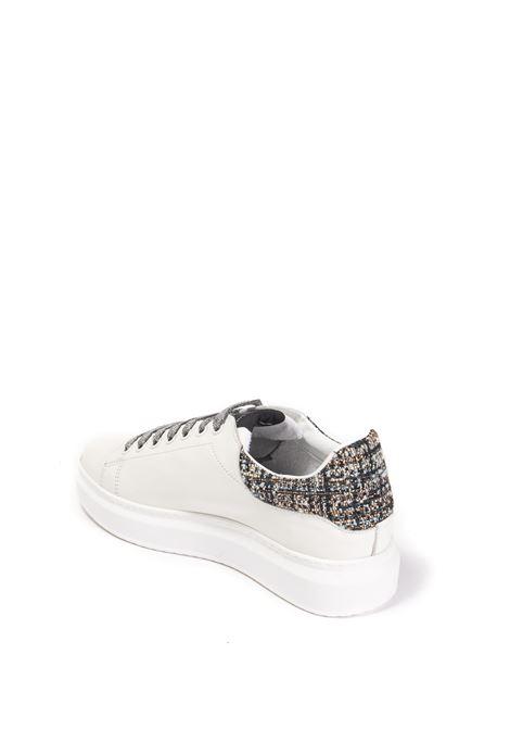Sneaker angel 47 bianco/silver NIRA RUBENS | Sneakers | ANGELALST47-SILVER