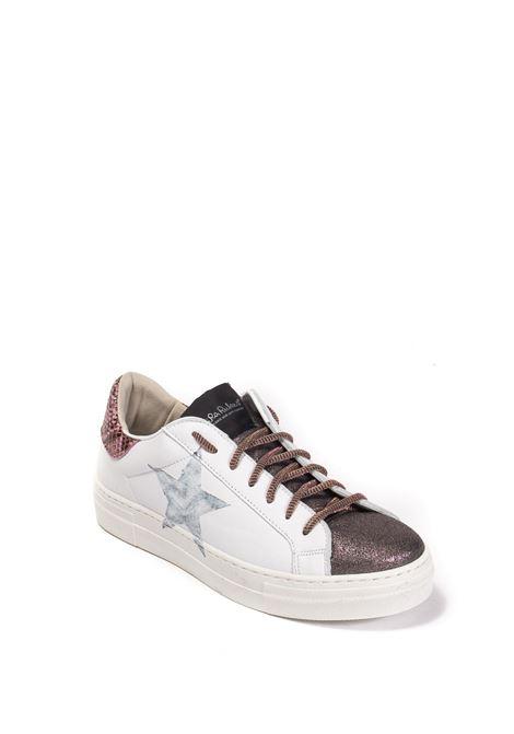 Sneaker martini 116 bianco/nude NIRA RUBENS | Sneakers | MARTININIST116-MAUVE