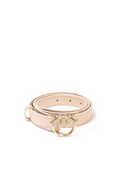 Cintura love berry small beige PINKO | Cinture | 1H20X8LOVE BERRY-C61