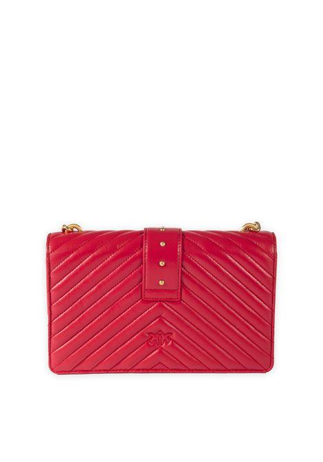 Borsa love icon quilt rosso PINKO | Borse mini | 1P22BTLOVE ICON QUILT-R43