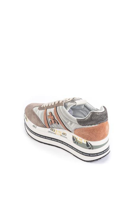 Sneaker beth grigio PREMIATA | Sneakers | BETHCAM/TES-4918