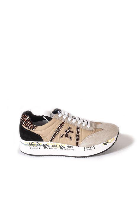 Sneaker conny beige PREMIATA | Sneakers | CONNYCAM/TES-5332