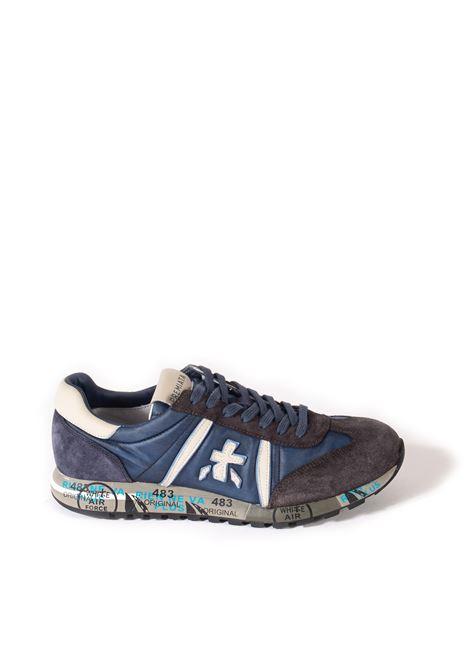 Sneaker lucy grigio/blu PREMIATA | Sneakers | LUCY UCAM/TES-4931