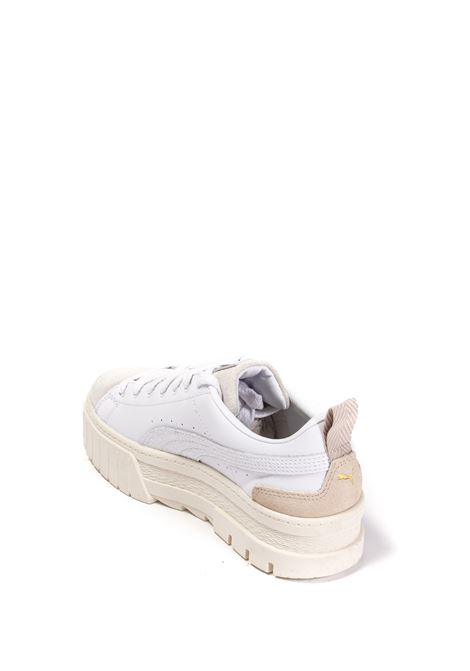 Sneaker mayze lux bianco PUMA | Sneakers | 382782MAYZE PRM-01