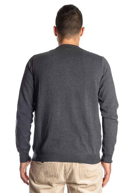 Maglione basic yarn grigio REFRIGUE | Maglieria | R40568BASIC YARN-11080