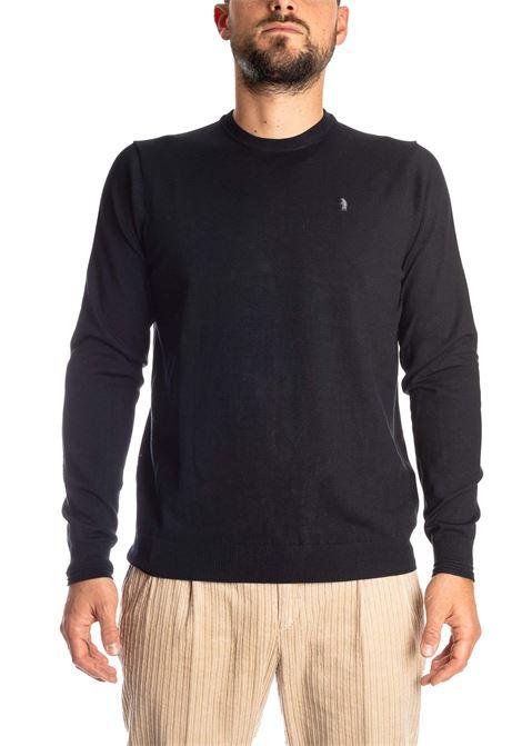 Maglione basic yarn blu REFRIGUE | Maglieria | R40568BASIC YARN-125