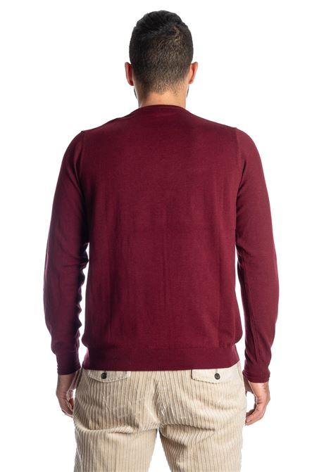 Maglione basic yarn bodeaux REFRIGUE | Maglieria | R40568BASIC YARN-433