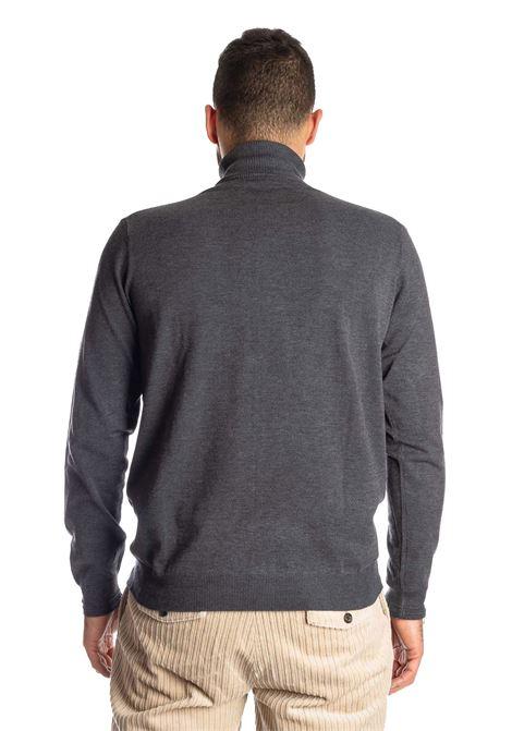 Maglione collo alto grigio REFRIGUE | Maglieria | R40571COLLO-11080