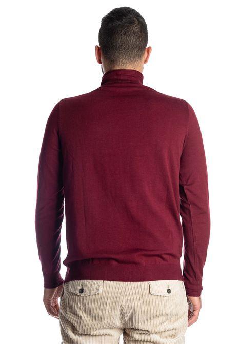 Maglione collo alto bordeuax REFRIGUE | Maglieria | R40571COLLO-433
