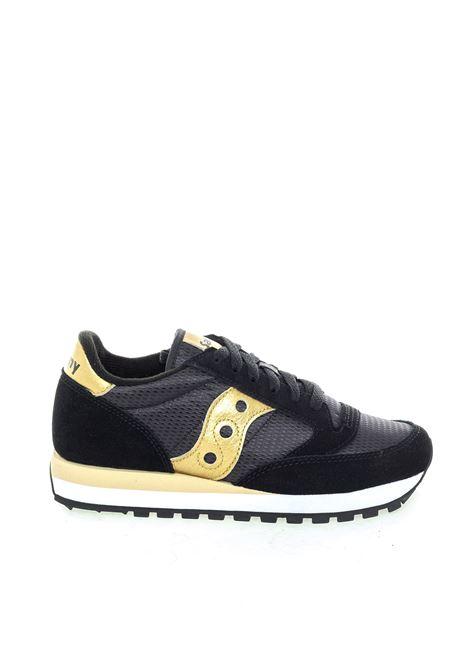 Sneaker jazz nero/oro SAUCONY | Sneakers | 1044JAZZ-521