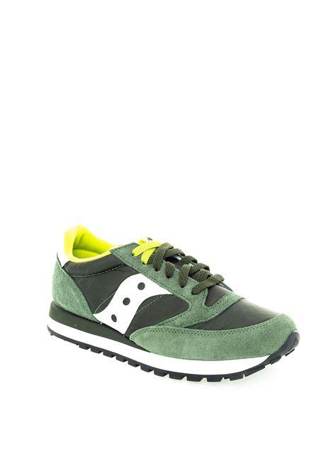 Sneaker jazz verde SAUCONY | Sneakers | 2044UJAZZ-275