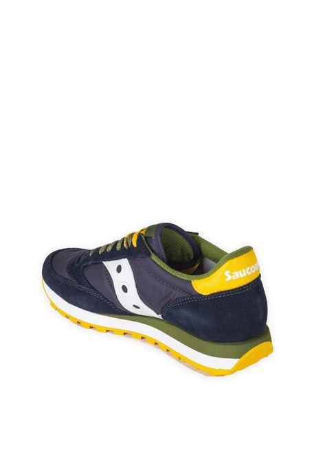 Sneaker jaz blu/giallo SAUCONY | Sneakers | 2044UJAZZ-616