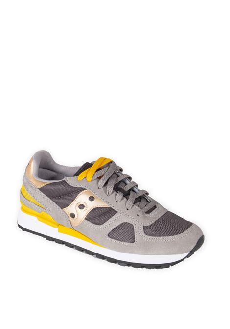 Sneaker shadow grigio/verde SAUCONY | Sneakers | 2108SHADOW-786