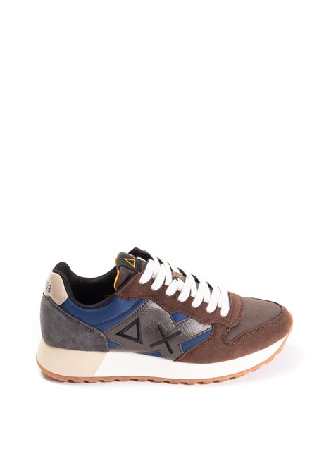 Sneaker jaki colors marrone/blu SUN 68 | Sneakers | BZ41112JAKI COLORS-0708