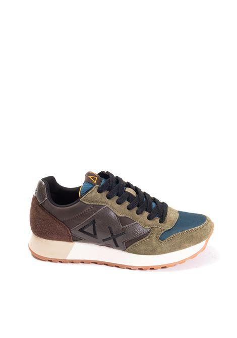 Sneaker jaki colors marrone/verde SUN 68 | Sneakers | BZ41112JAKI COLORS-0842
