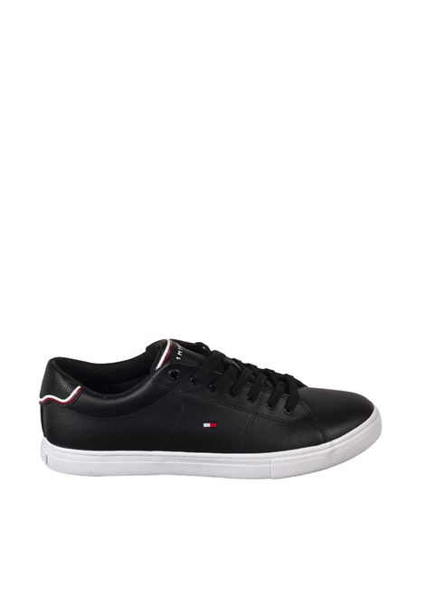 Sneaker essential nero TOMMY HILFIGER | Sneakers | 3739LEATHER-BDS
