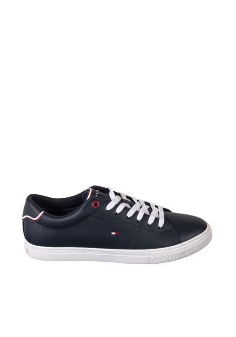 Sneaker essential blu TOMMY HILFIGER | Sneakers | 3739LEATHER-DW5