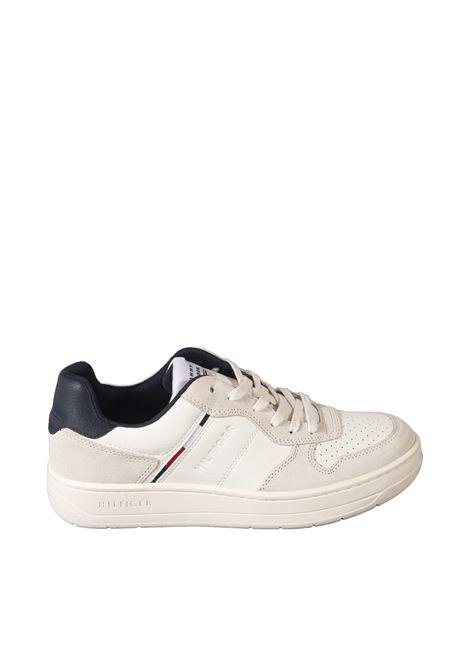 Sneaker basket bianco TOMMY HILFIGER   Sneakers   3828LEATHER-YBI