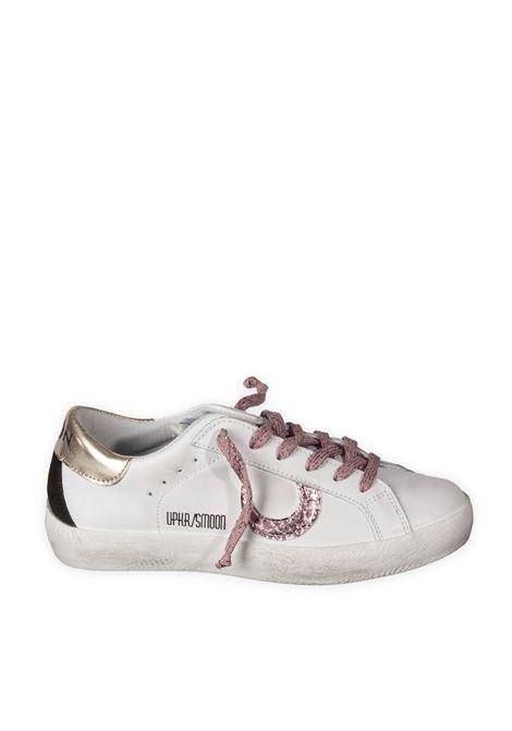 Sneaker moon bianco/rosa UMA PARKER NEW YORK | Sneakers | 830221PEL/CAM-BIANCO/ROSE