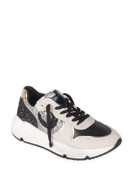 Sneaker glitter bianco UMA PARKER NEW YORK | Sneakers | 880221CAM/GLIT-BIA/NERO