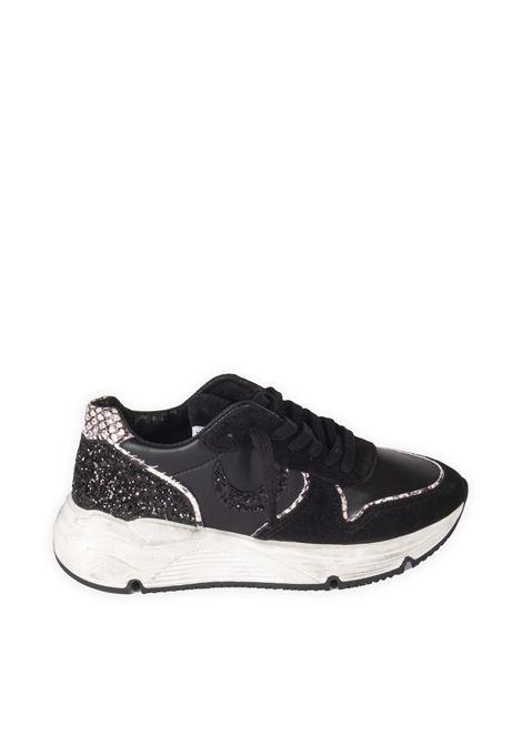Sneaker glitter nero UMA PARKER NEW YORK | Sneakers | 940221PELLE-NERO