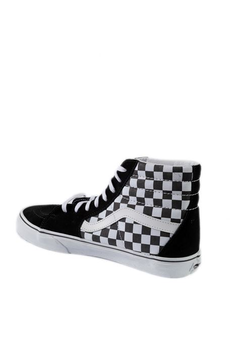 Sneaker sk8 hi chech black/white VANS | Sneakers | VN0A32QGHRK1SK8-HI CHECK-HRK1