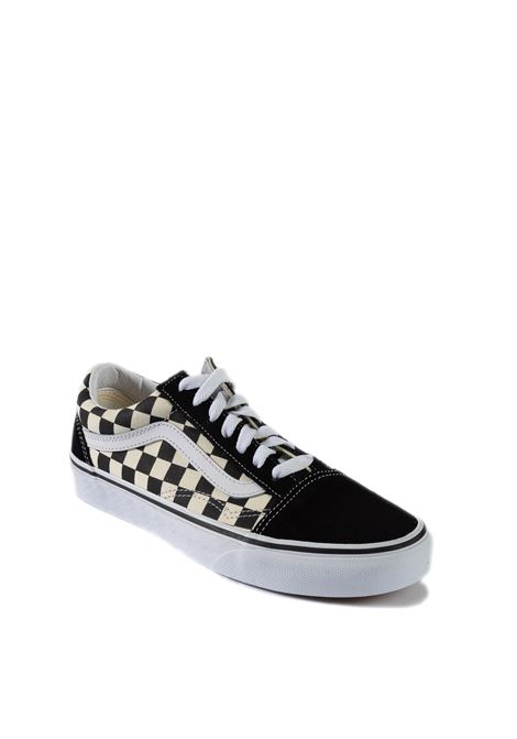 Sneaker old skool scacchi bianco/nero VANS | Sneakers | VN0A38G1P0S1OLD SKOOL CHECK-P0S1