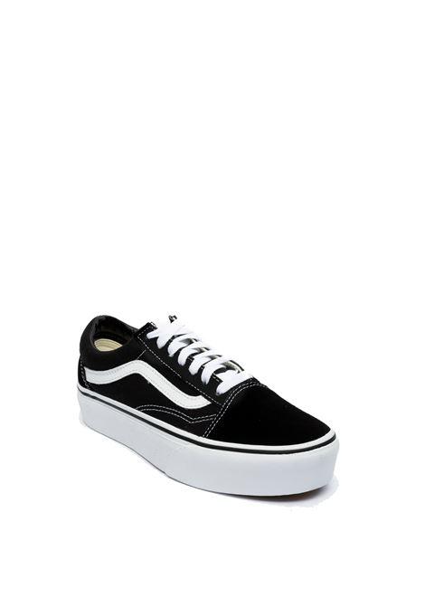 Sneaker old skool platform nero/bianco VANS | Sneakers | VN0A3B3UY281OLD SKOOL PLATFORM-Y281
