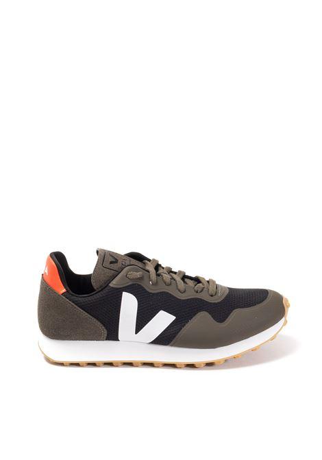 Sneaker sdu mesh nero/verde VEJA | Sneakers | SDU RTALVEOMESH-012654